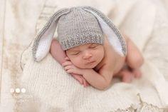 Prop foto recién nacido sombrero de conejo recién nacido   2279ba86274