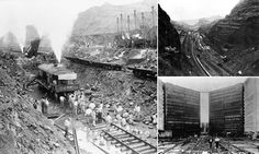 Construction of the Panama Canal got under way in 1881 with a work force of 40,000 tasked with hacking through solid mountainous terrain and redirecting powerful rivers.