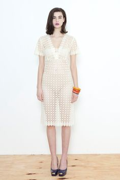 Carlson Lace Claire Dress