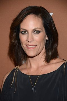 annabeth gish   Annabeth Gish Actress Annabeth Gish attends the 2013 FX Upfront ...