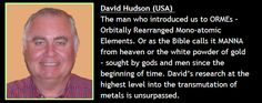 David Hudson | ORMUS Conference |Mono-Atomic Gold