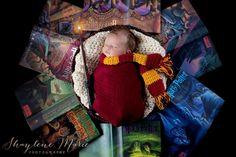 London Lane... Harry Potter Newborn Photoshoot.