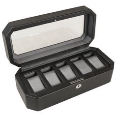 5-piece Watch Box For Men By Wolf