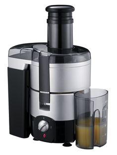 LICUADORA 3559  Potencia 600 W.  Capacidad / Contenido aprox. 1000 ml  Nº EAN 4008146355905  Licuadora potente.  2 velocidades.  Máx. 19.200 r.p.m. para mejores resultados de exprimido.  Motor refrigerado por aire, de bajo ruido.  Recipiente extraíble para la pulpa, capacidad de 2000 ml.  Contenedor de zumo, capacidad de 1000 ml.  Gran tolva que permite introducir zanahorias, manzanas y otras frutas enteras.  Cierre de seguridad.  Micro-colador y cortador de acero inoxidable.