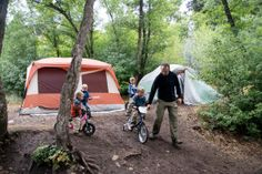Best Campgrounds in North America - includes list for Western US Camping Stuff, Camping And Hiking, Rv Camping, Rv Living, Outdoor Living, Best Campgrounds, Best Rated, Where To Go, Family Travel