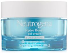 Hydro Boost Gel-Cream Hyaluronic Acid Dry Skin Fragrance-Free 1.7-Oz Pack of 3 #SkinCare