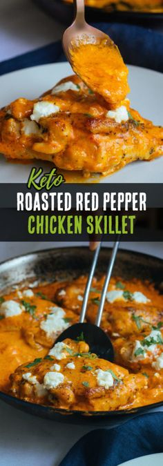 [ This Keto Chicken Thighs recipe is not only simple to make but is packed with flavor from roasted red peppers and creamy goat cheese! The post Roasted Red Pepper Chicken Thighs appeared first on Keto Recipes. Keto Foods, Healthy Diet Recipes, Low Carb Recipes, Quark Recipes, Jelly Recipes, Shake Recipes, Healthy Fats, Meat Recipes, Free Recipes