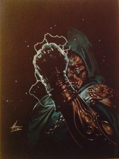 Dr. Doom by Gabriele Dell'Otto. via: http://westcoastavengers.tumblr.com/post/76136323540/dr-doom-by-gabriele-dellotto