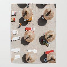 Poster Prints, Framed Prints, Posters, Beach Umbrella, Shape And Form, Diy Frame, Garlic Bread, Clothespins, Summer Travel