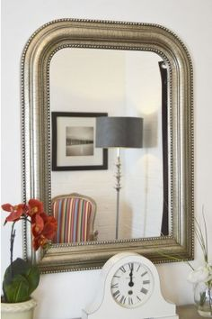 Detailed Overmantle Mirror Free Deliveries Returns Exchanges
