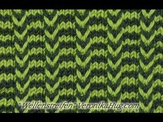 Knitting - lifting mesh wave stripes - Veronika Hug In this video I will show you a very simple lifting mesh pattern. It consists of right stitches and Knitting Videos, Knitting Charts, Easy Knitting, Knitting Stitches, Knitting Designs, Knitting Socks, Knitting Patterns Free, Stitch Patterns, Lang Yarns
