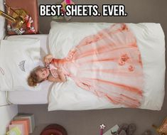 Une couette pour lit de princesse (Bed Linen Princess) I think I need this on my bed. My Baby Girl, Baby Love, Girly Girl, Little Ones, Little Girls, Kids Collection, Best Sheets, Lit Simple, Design Shop