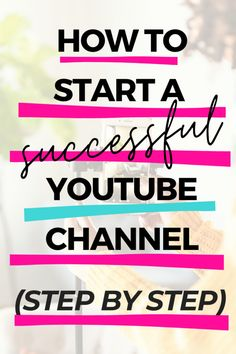 How To Start Youtube, Start Youtube Channel, How To Start A Blog, How To Make Money, How To Start Vlogging Youtube, Youtube Secrets, Youtube Hacks, Youtube Youtube, Youtube Setup