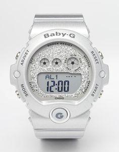 Casio Baby G Silver Digital Watch