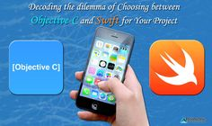 Both Objective C & Swift are competent programming languages.The only assertion you should keep in mind is the project dynamics while choosing between them. Objective C, Project 11, Decoding, Keep In Mind, App Development, Ios App, Swift, Amp