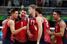 U.S. Olympic Team Retweeted  USA Volleyball ‏@usavolleyball  16h16 hours ago Rio de Janeiro, Brazil .@MChristenson5 with the ACE to give U.S. Men 25-19 3rd-set win. Russia leads 2-1. #Rio2016 #Teamusa #USAVmnt