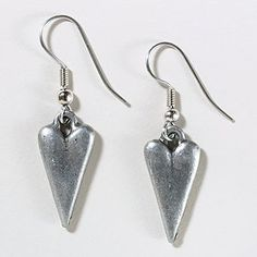Long Heart Earrings  | World Market
