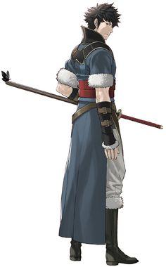 Lon'qu - Fire Emblem Awakening  My favourite male character.