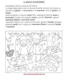 bosco in autunno - Frauen Haar Modelle Autumn Activities For Kids, Easy Science Experiments, Italian Language, School Themes, Language Activities, Elementary Schools, Literacy, Kindergarten, Coding