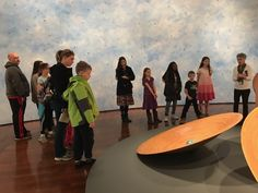 sports shoes 858c3 08017 STEM Girls taking a closer look at Ana England s Kinship exhibit