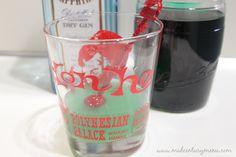 Fallen Angel. Gin and creme de menthe. Sounds like a nice winter after-dinner drink.