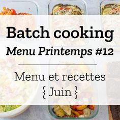 Batch Cooking, Meal Prep, Food Prep, Prepping, Lunch Box, Food And Drink, Nutrition, Vegetables, Healthy