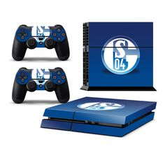 SCHALKE 04 Playstation 4 PS4 Skin Decal Sticker Cover Playstation 4 Custom Made
