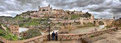 Panorámica Toledo desde el río