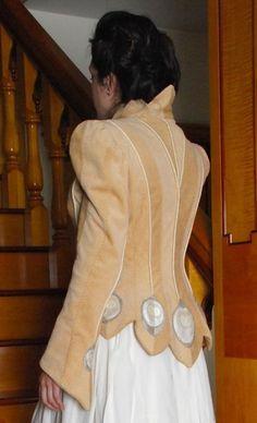 Embellished Sport Jacket One of a by MaryGwyneth