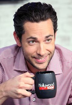 Zachary Levi visits Hollywood Today Live at W Hollywood on July 18 2016 #zacharylevi