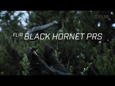 The Black Hornet personal reconnaissance system can fly for 25 minutes and see at night.