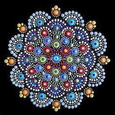 Image result for Dot Painting Mandala