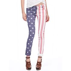Soul Cal Deluxe USA Skinny Trousers ❤ liked on Polyvore