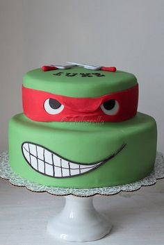 Turtle Ninja Cake | Double chocolate cake with chocolate but… | Mihaela Pesa Dascalu | Flickr