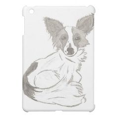 Papillon Sketch iPad Case