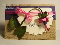 61 best stampin up paper flowers punch art images on pinterest stampin up paper flowers valita fuchsia video tutorial mightylinksfo