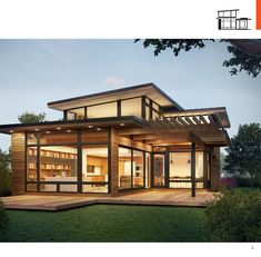 L-shape open plan with loft and ventilation roofing -  Turkel Design Axiom/Dwell…