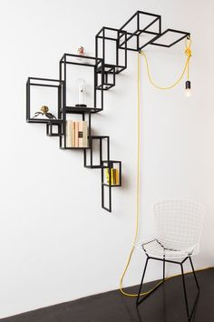 sculptural wall decor http://decdesignecasa.blogspot.it