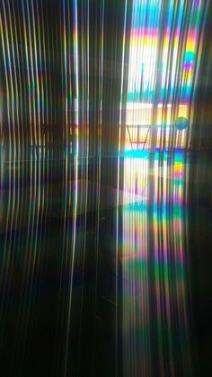 I got this one by putting a diffraction grating in front of the lens during an experiment in physics class.