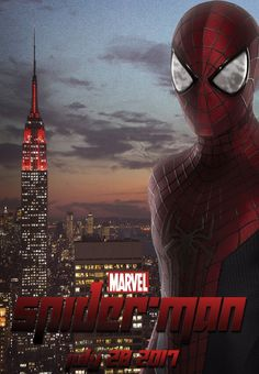 Spiderman 2017 Movie Fanmade Poster by DigiRadiance on DeviantArt