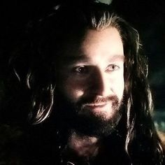 Thorin rarely smiled but when he did...
