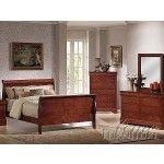 $699.00  Acme Furniture - Louis Philippe Ii 3 Piece Bedroom Set - 9830Bf-9790Bt-9794Bck-9797Bek-9800Bq-3Set