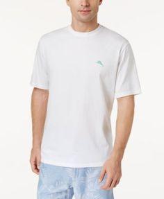 Tommy Bahama Men's Big & Tall Let's Play Hookie-Print T-Shirt - White 5XB