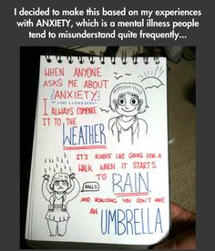 """Anixety, depression, grief - - where does it all converge into one hellstorm of pain.  """"Here's An Easy Way To Understand Anxiety"""""""