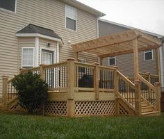 Pergola deck in Raleigh provided by Raleigh Decks - Deck & Screen Porch Builder for Raleigh, NC Wendell 27591