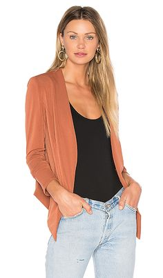 Shop for BCBGeneration Tuxedo Blazer in Rustic at REVOLVE. Free 2-3 day  shipping bc3a5c16a5803