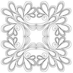 Dixie Feather Block - Digital SSQ-DIF-BLK