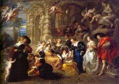 Love Garden - (Peter Paul Rubens)