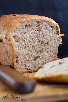Gruyère and Walnut Bread
