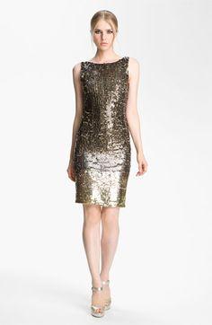 Alice + Olivia 'Baia' Ombre Sequin Dress - Fall 2012